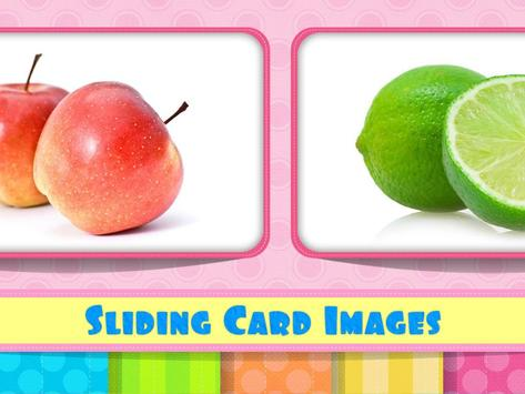 Tamil Flash Cards - Fruits poster