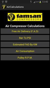 Air Compressor Calculations poster