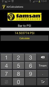 Air Compressor Calculations apk screenshot