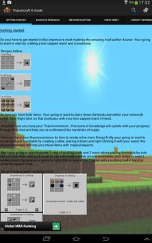 Thaumcraft 4 Guide (Open Beta) apk screenshot