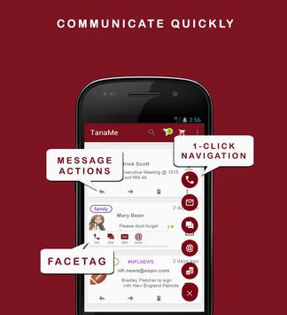 TanaMe FREE - All-in-One Comms apk screenshot