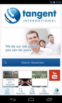 Tangent International Jobs poster