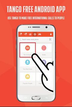 Free Tango VDO Chat Call Guide apk screenshot