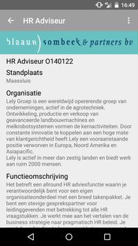 BSP HR Vacatures apk screenshot