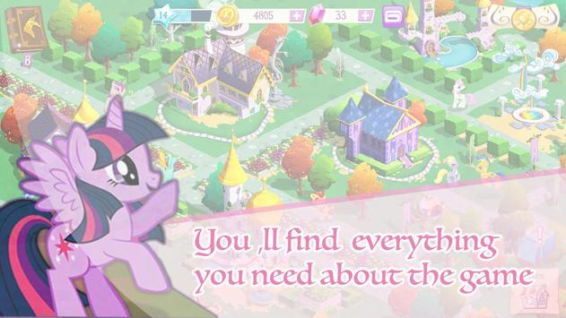 Guide for My little Pony poster