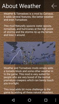 Tornado Mod for Minecraft Pro! apk screenshot