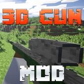 3D Guns Mod for Minecraft Pro! icon