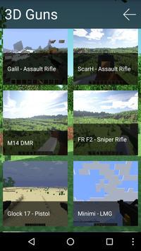 3D Guns Mod for Minecraft Pro! apk screenshot