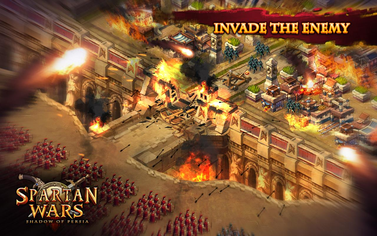 Spartan Wars: Blood and Fire For PC | Android | Mac | iOS ...