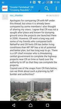 IREF: Indian Real Estate Forum apk screenshot