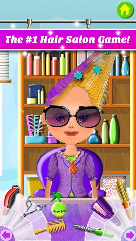 hair styling games online free hair salon makeover apk free casual for 9225 | screen 0=x800