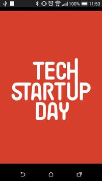 Tech Startup Day 2015 poster