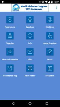 World Diabetes Congress 2015 apk screenshot