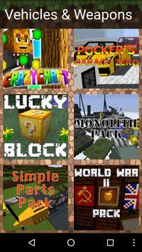 Best Mods for Minecraft PE/PC apk screenshot