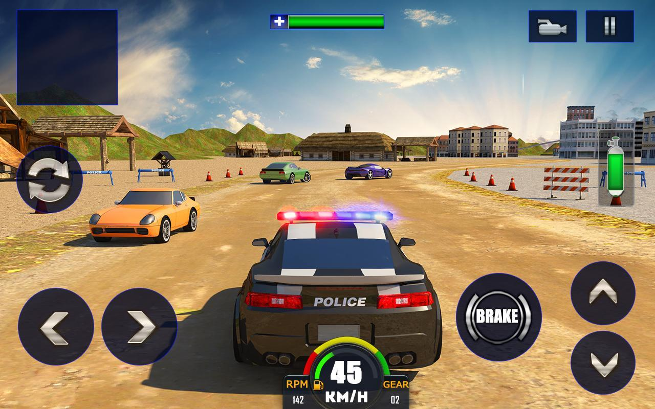 Police Car Chase Game Apk