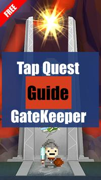 Tap Quest Guide Gate Keeper poster