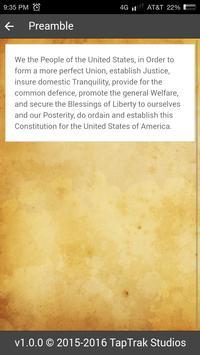 US Constitution apk screenshot