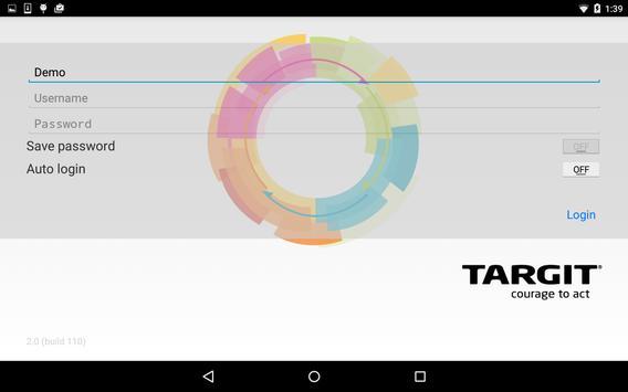 TARGIT apk screenshot