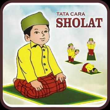 Tata Cara Sholat poster