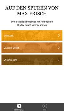 Max Frisch App poster