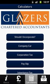 Glazers Chartered Accountants apk screenshot