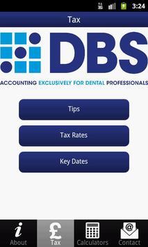DBS Tax App poster