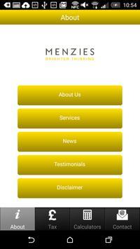Menzies Tax App poster
