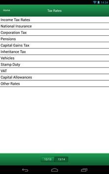 Menzies Tax App apk screenshot