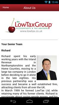 The LowTax Group apk screenshot