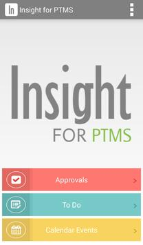 Insight for PTMS apk screenshot