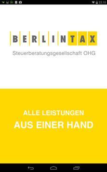 BERLINTAX Steuerberater poster