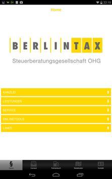 BERLINTAX Steuerberater apk screenshot