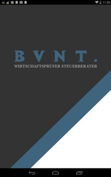 BVNT. WP/Steuerberater poster