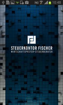 Steuerkontor-Fischer poster