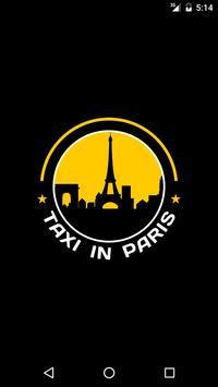 Taxi in Paris Car Booking App poster