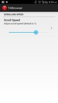 Tilt Browser apk screenshot