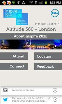 Inspire 2012 poster