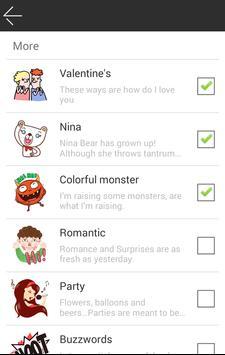 MojiSMS Sticker Extension apk screenshot