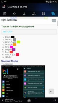 BBM Transparent apk screenshot