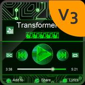 Transformer PlayerPro Skin icon