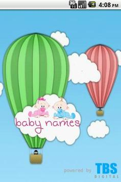 Cute Baby Names poster