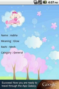 Cute Baby Names apk screenshot