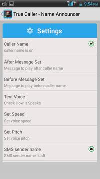 TrueCaller-Name Announcer apk screenshot