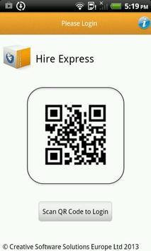 Hire Express poster