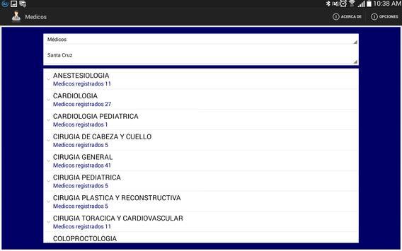 Médicos Bolivia apk screenshot
