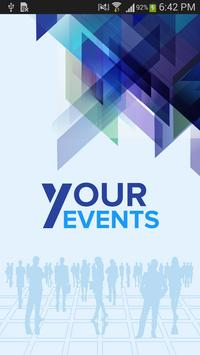 Your Events poster