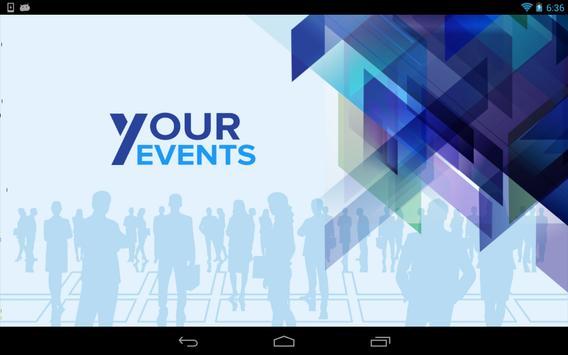 Your Events apk screenshot