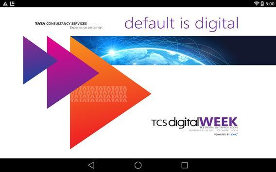 TCS Digital WEEK: Kochi apk screenshot