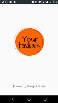 Your Feedback poster