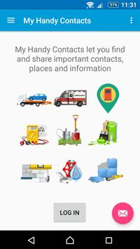 My Handy Contacts poster